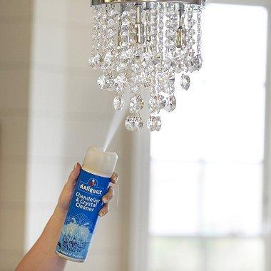 så rengör du dina kristallkronor